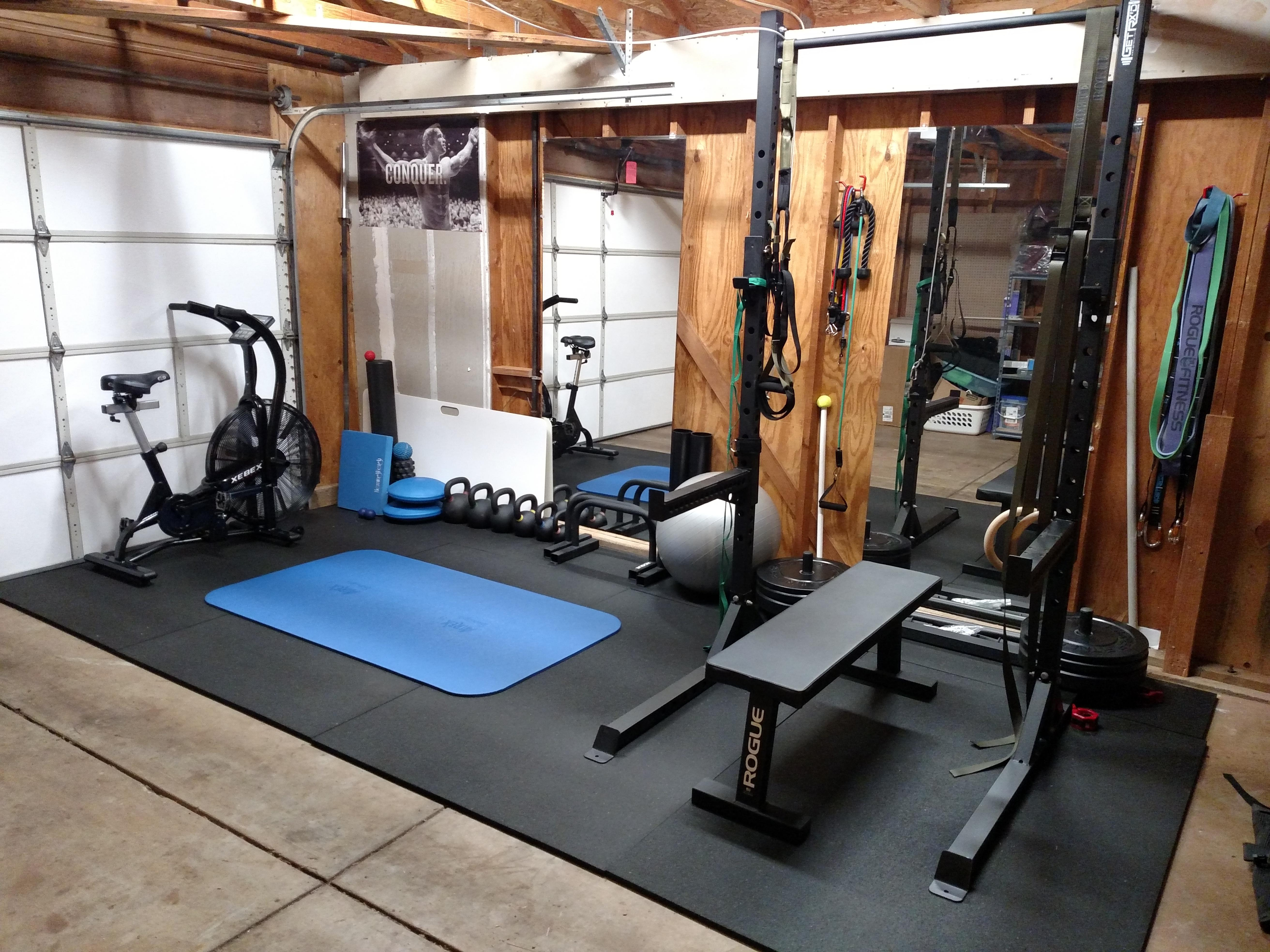 Garage Gym Half Rack Garage Gym Complete Homegym