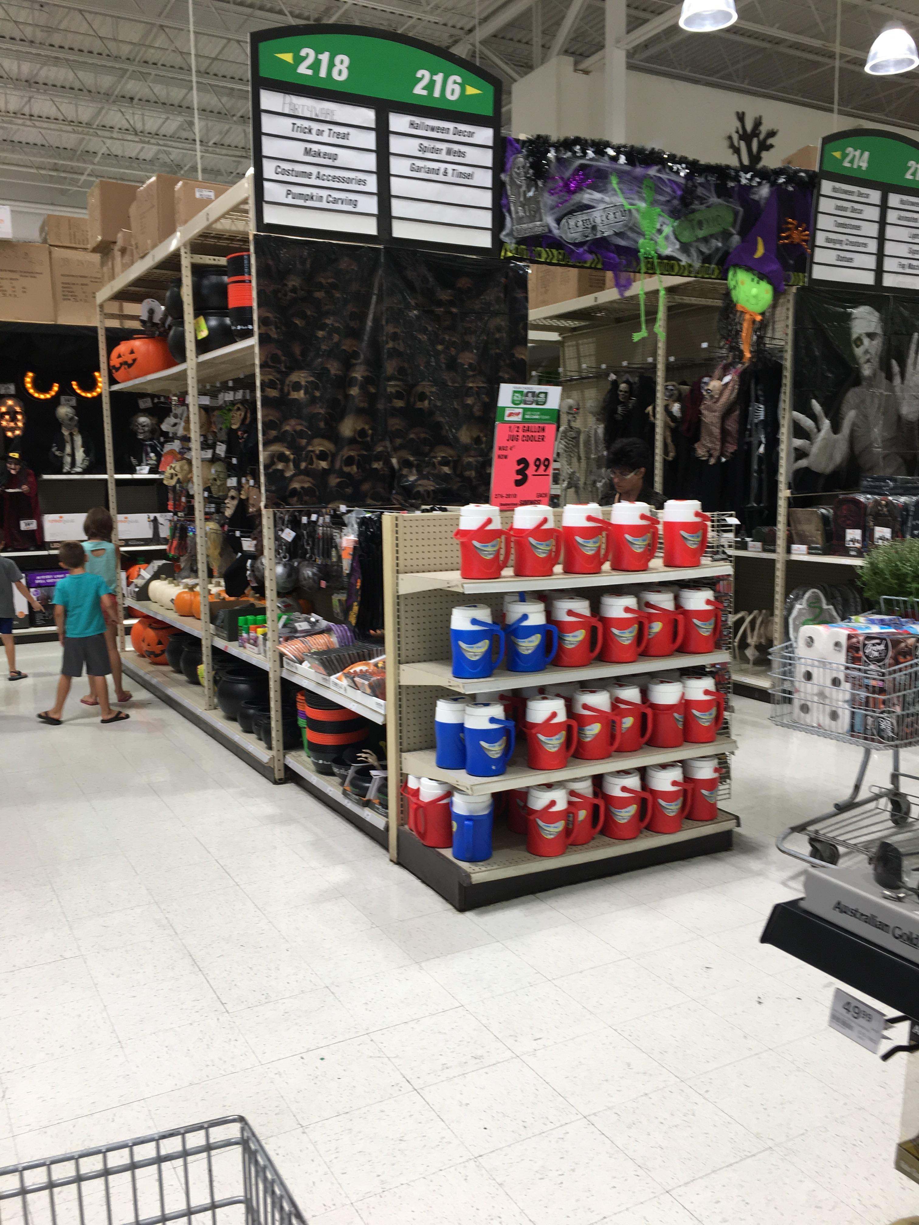 Tempting You Can Always Rely On Menards To Have Re Halloween Stuff Out Menards Halloween Decorations Halloween Decorations Home Depot Halloween Spider Home Depot Halloween Projector curbed Home Depot Halloween