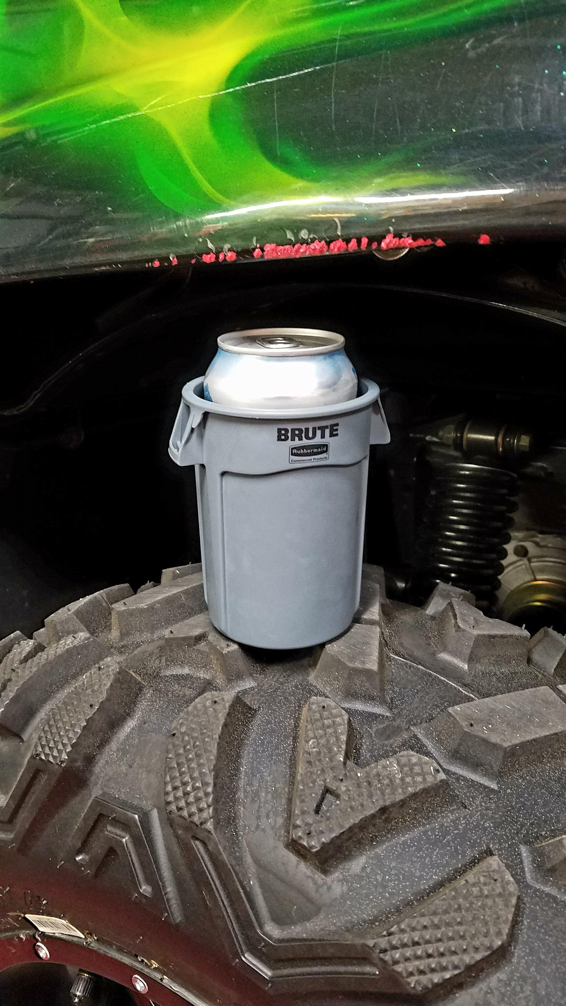 Mini Plastic Trash Can With Lid This Koozie That Looks Like A Mini Trash Can Mildlyinteresting
