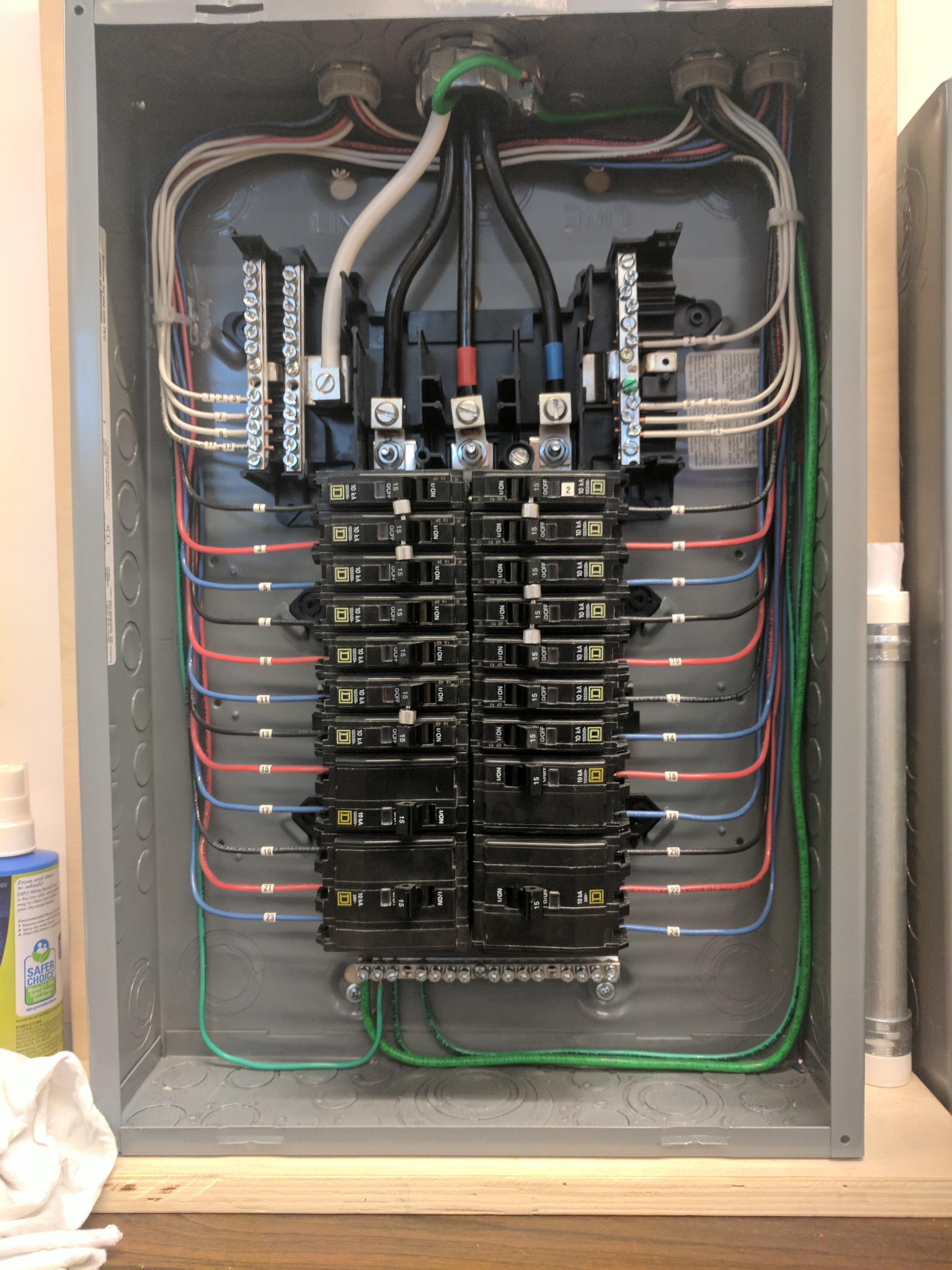 100 Amp Meter With Breaker Box Wiring Diagram How An Electrical Panel Should Look Cableporn
