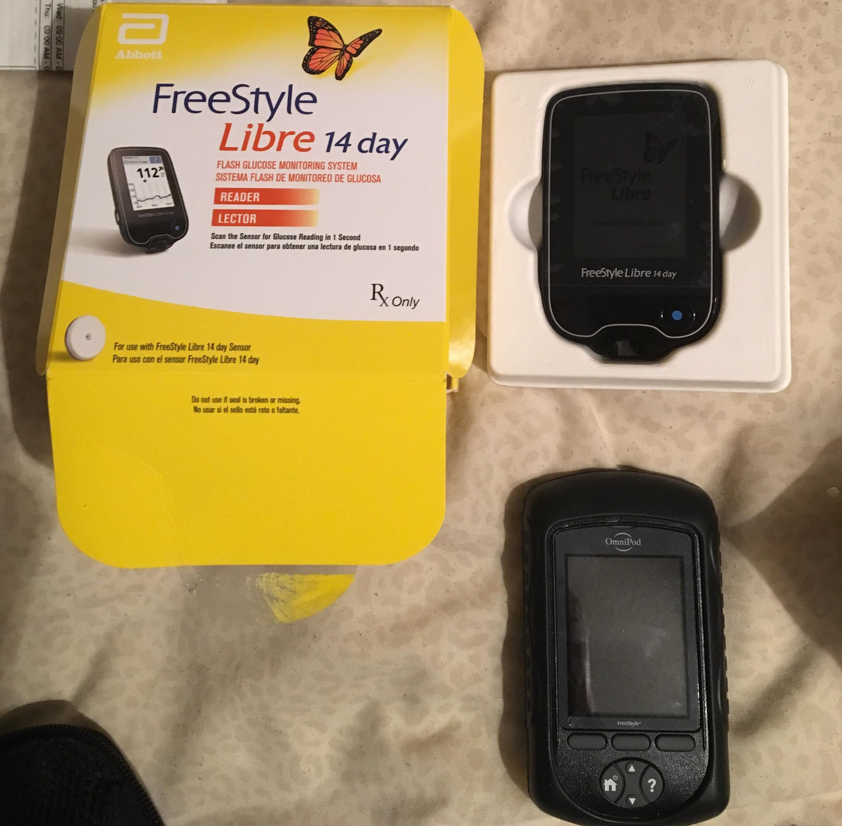 Abbott Freestyle Libre 14 Day Libre Is Here Also It Only Takes 60 Minutes To Activate
