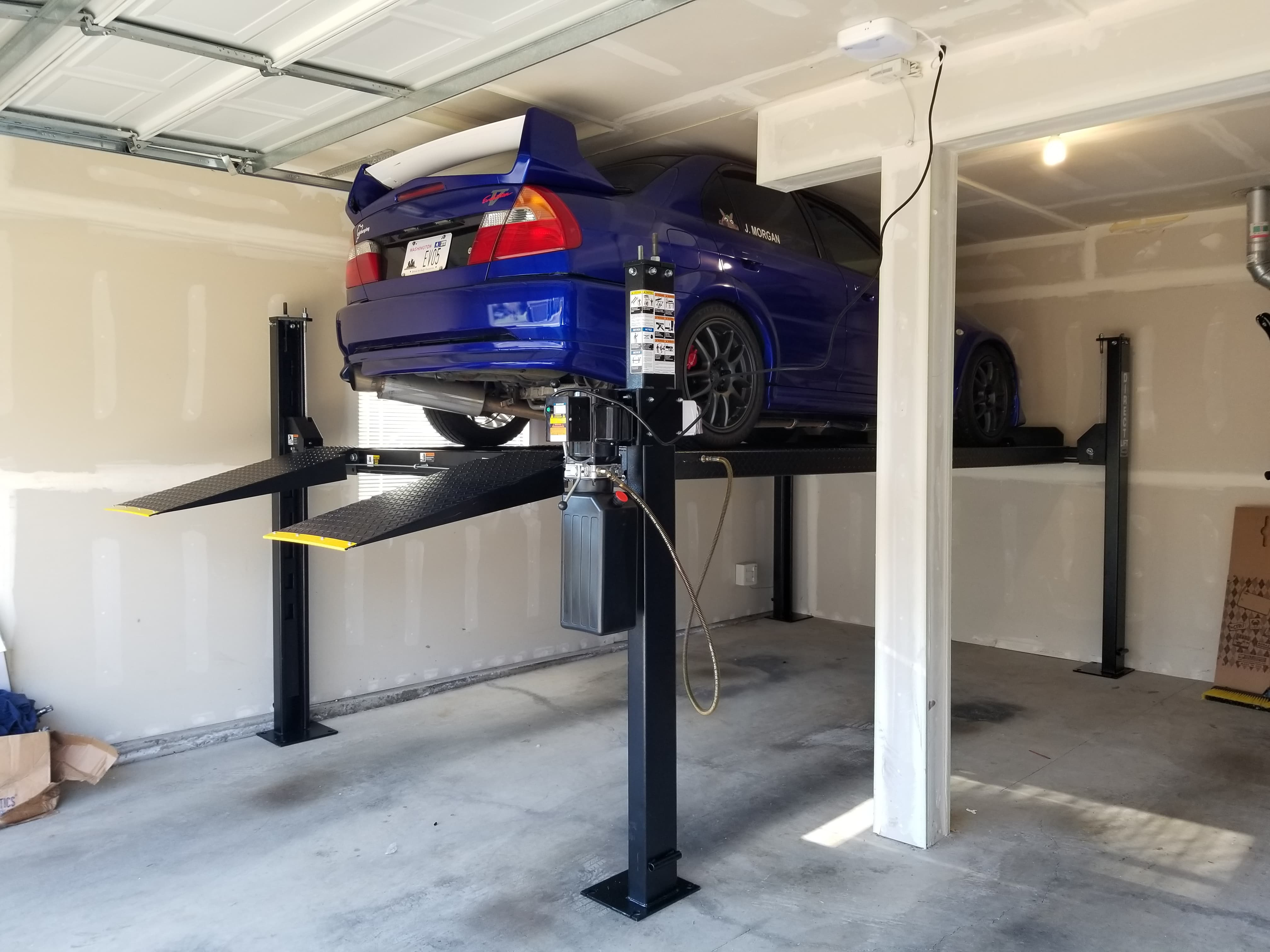 Car Lift In Garage I Put A Lift In My Garage Finally Jdm
