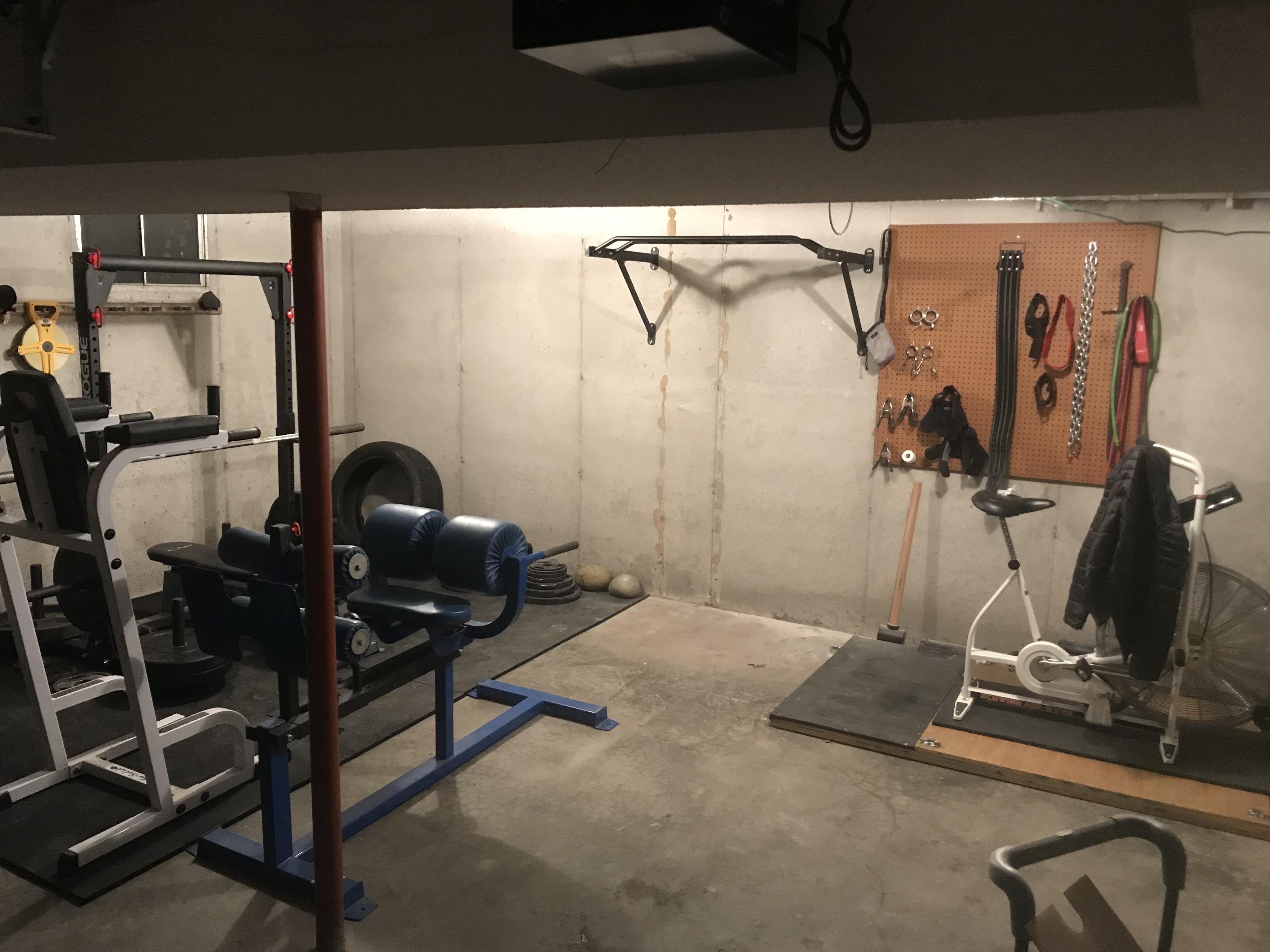 Rogue garage gym youtube