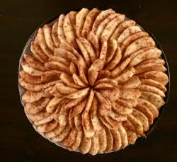 Small Of Sliced Baked Apples