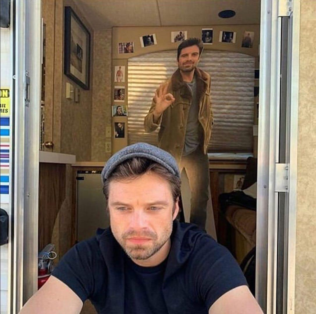 Why Is Seb S Trailer Filled With Tom Hiddleston Pictures Marvelstudios