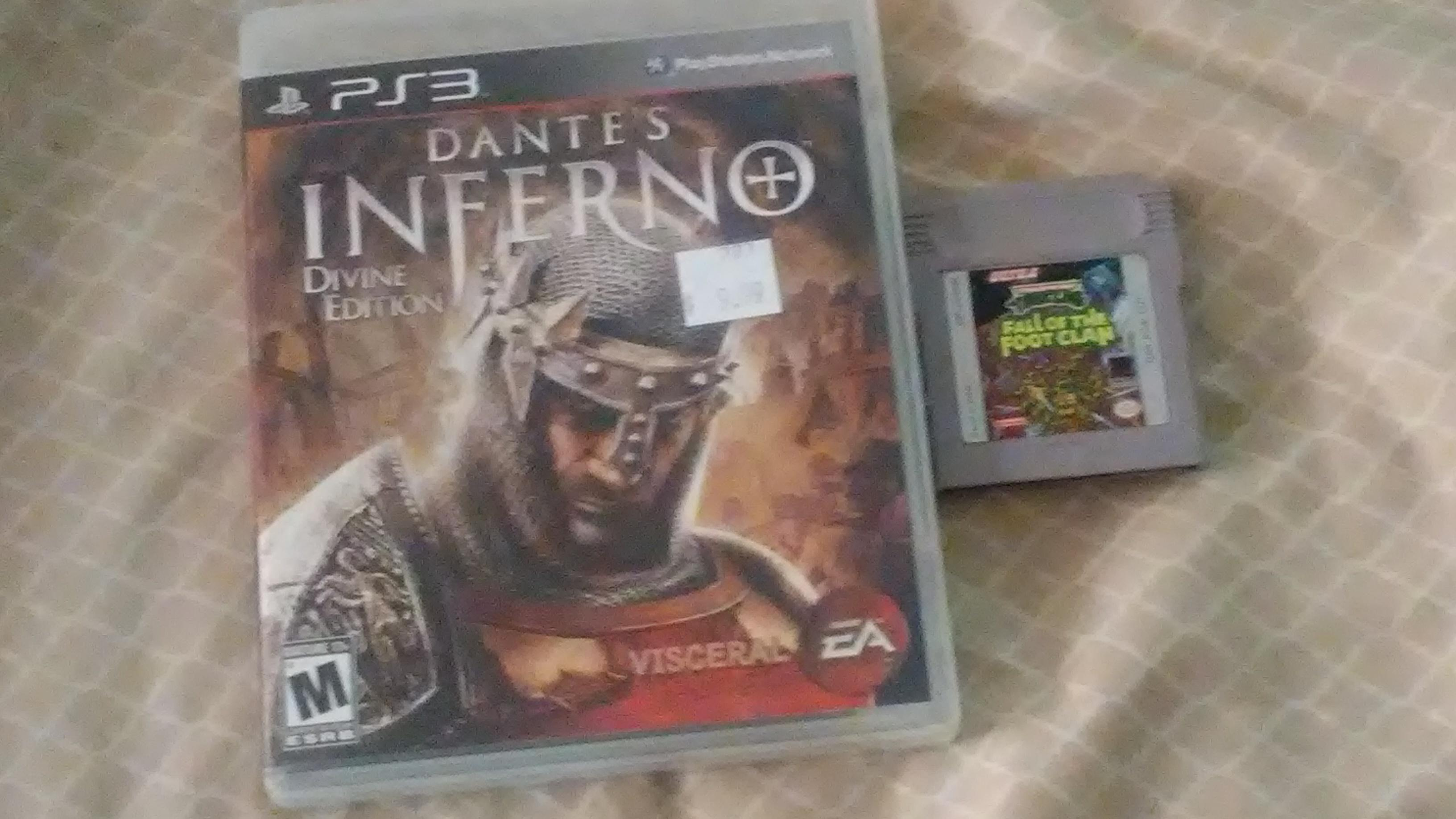 Edition For Ps3 Dante S Infeno Divine Edition Ps3 And Tmnt Fall Of The Foot