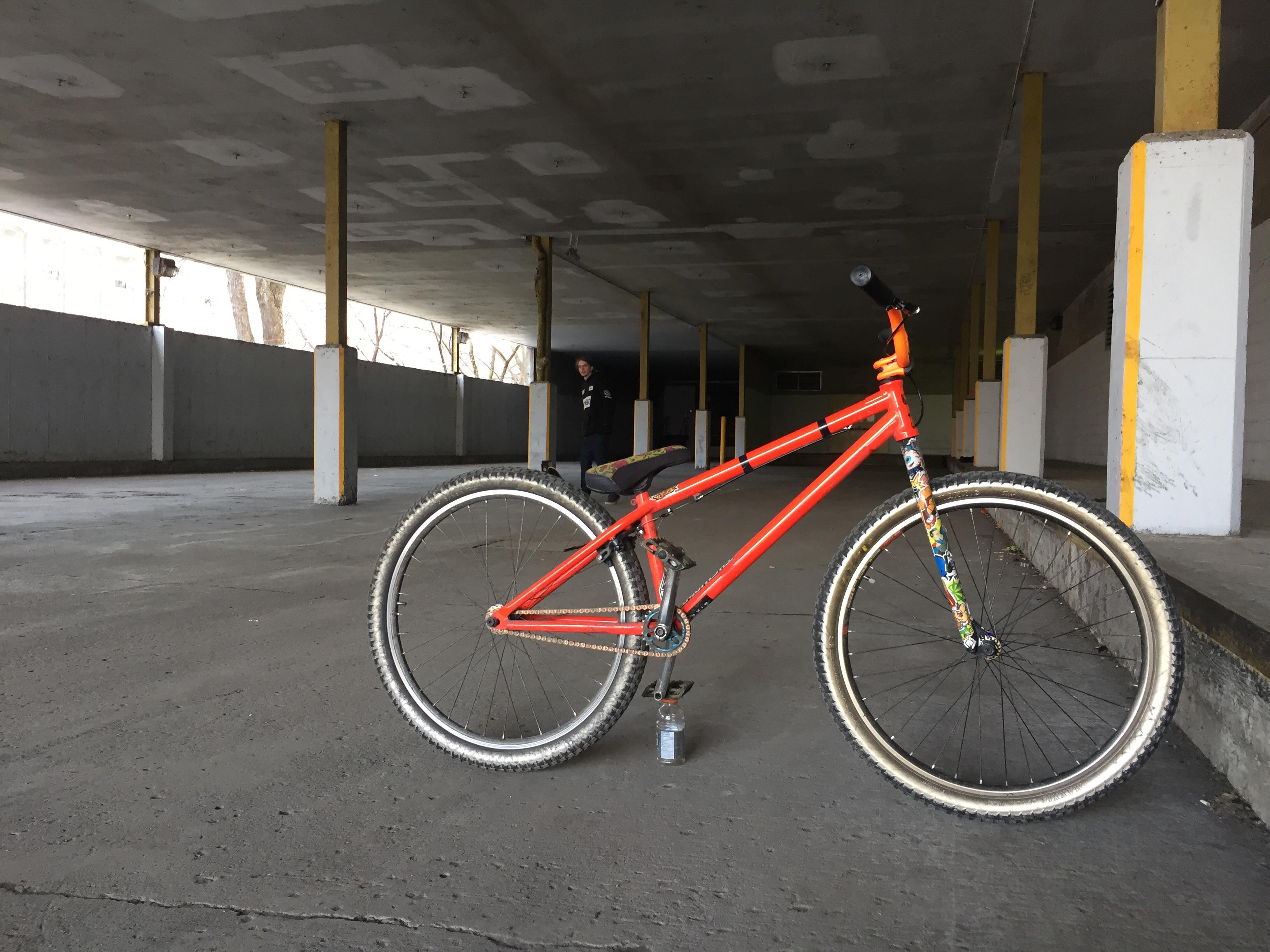 Bmx Parts Got Love For A 26 Mainly Built With Bmx Parts Frame Is A Ns