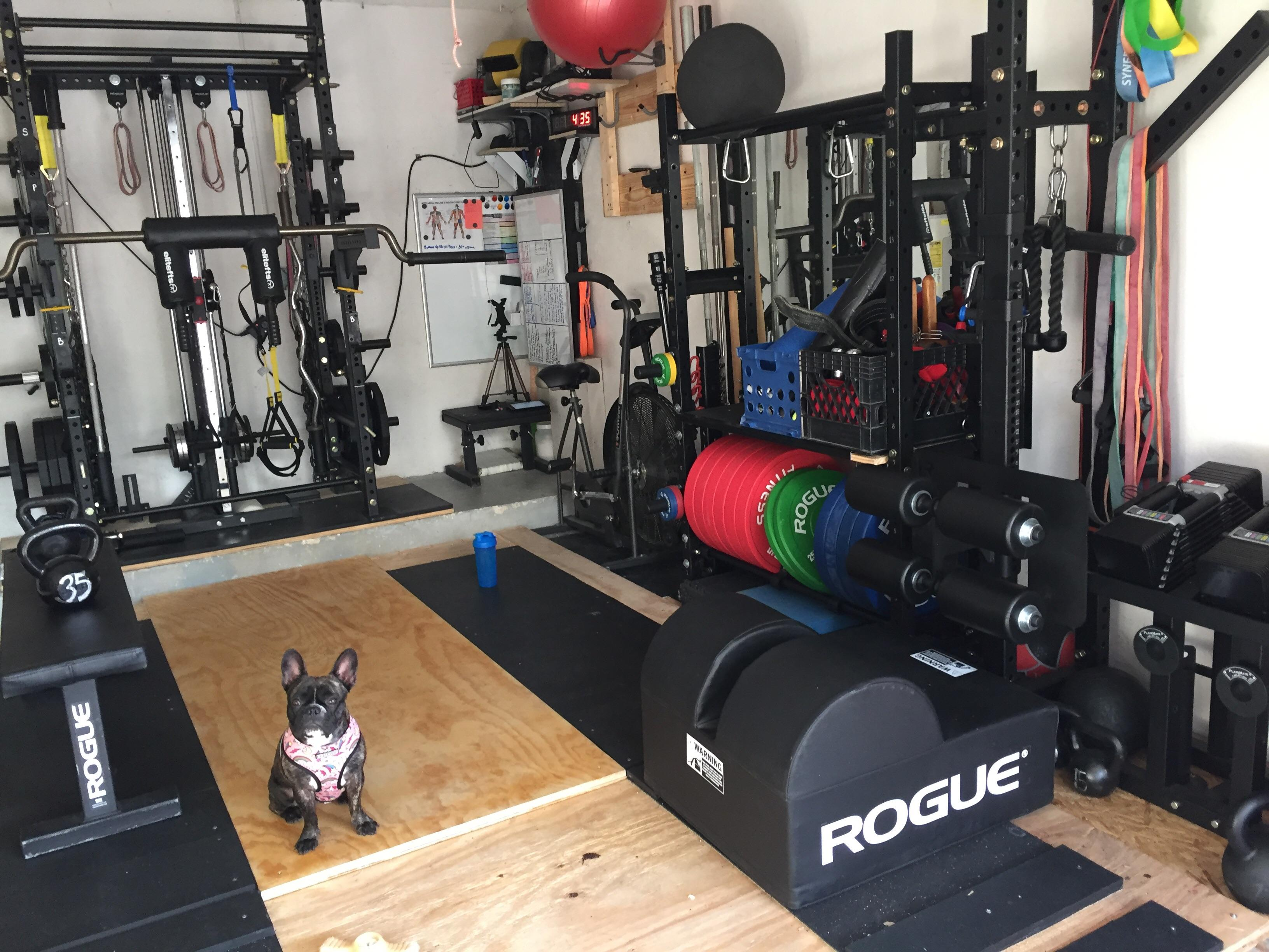 Garage Gym Humidity Florida Garage Gym 3 Homegym