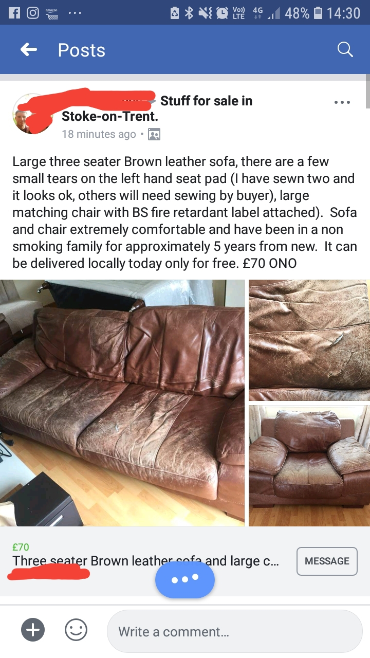 You D Have To Pay Me 70 Quid To Have This Delusionalcraigslist