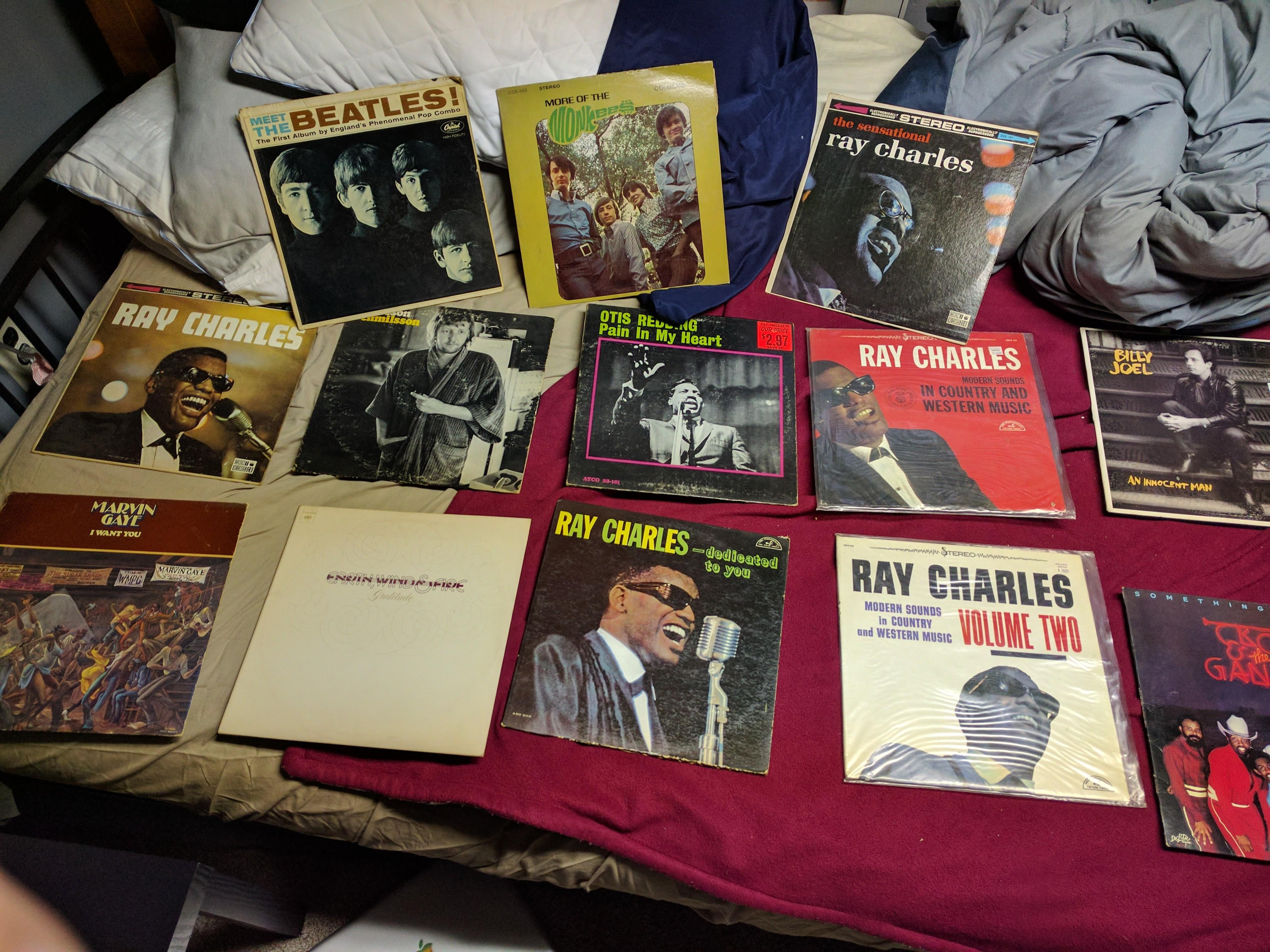 Garage Sale Book Prices My Garage Sale Finds From Today 13 Total Vinyl