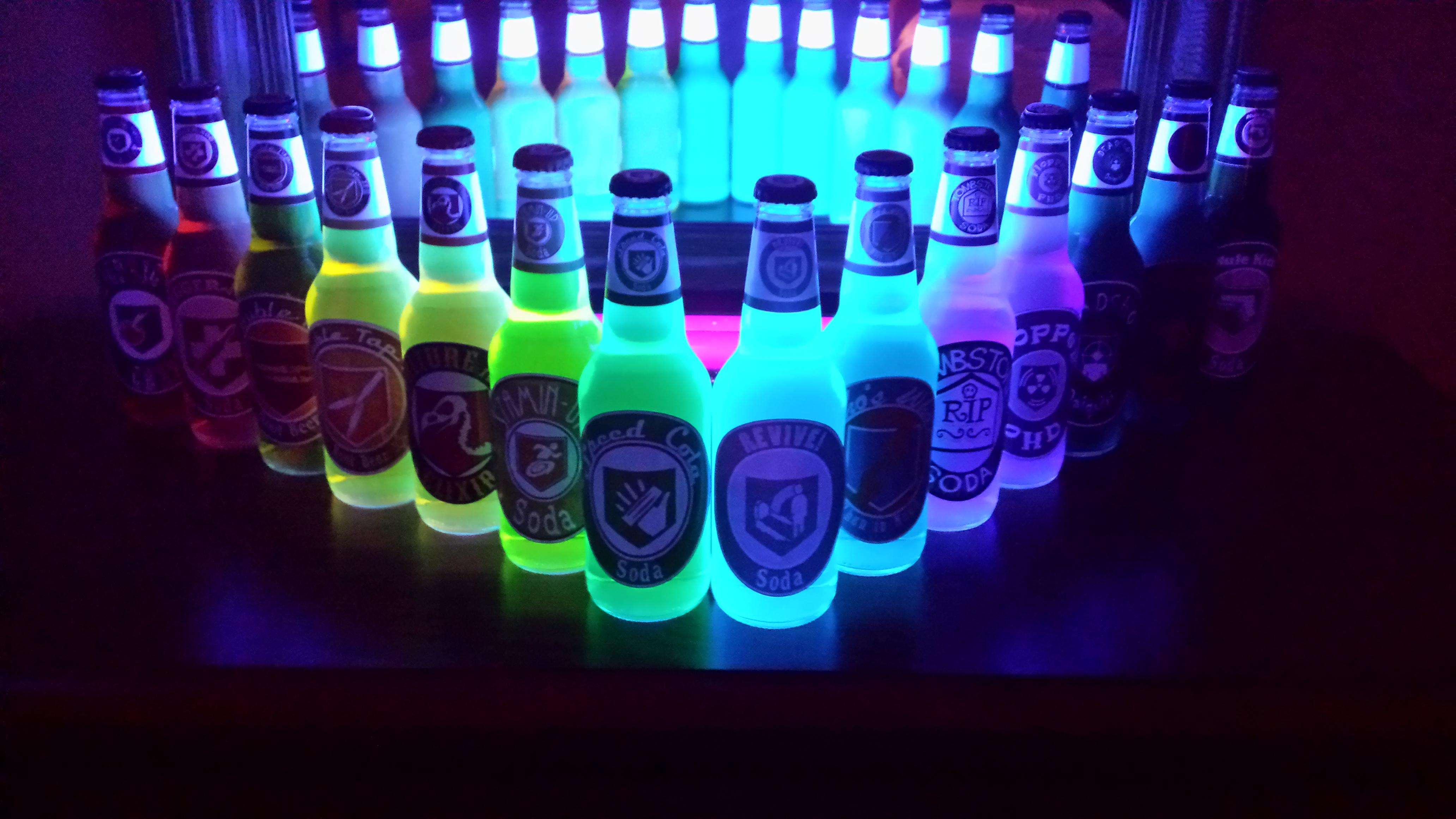 Juggernog Wallpaper Iphone A Lot Of You Guys Wanted To See My Perk Bottles Glowing