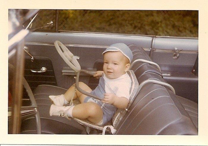 Child Carseat 1950s Oldschoolcool
