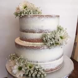 Small Of Chocolate Wedding Cake
