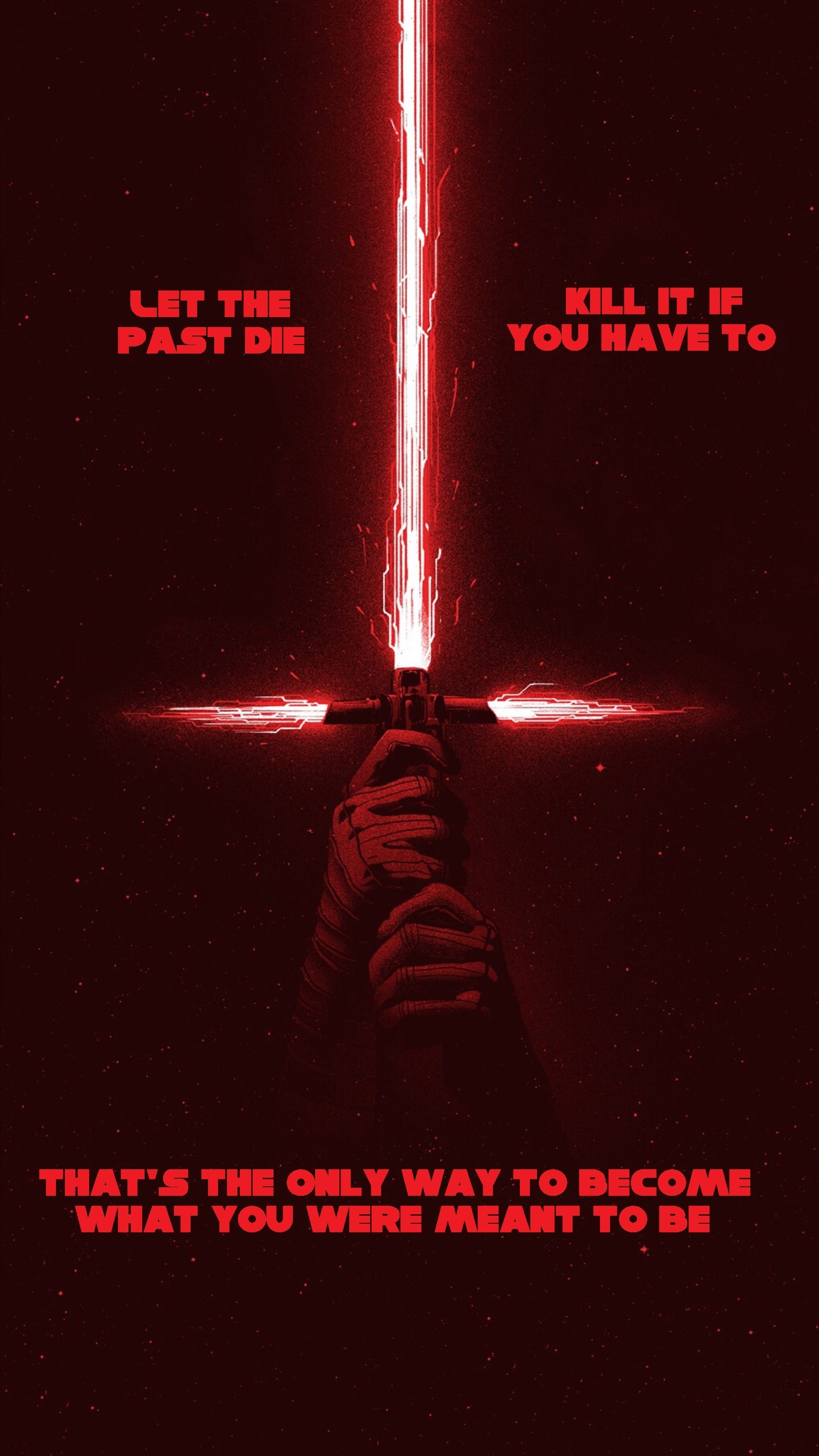 Love One Side Quotes Wallpaper My Favorite Quote From The Last Jedi Starwars