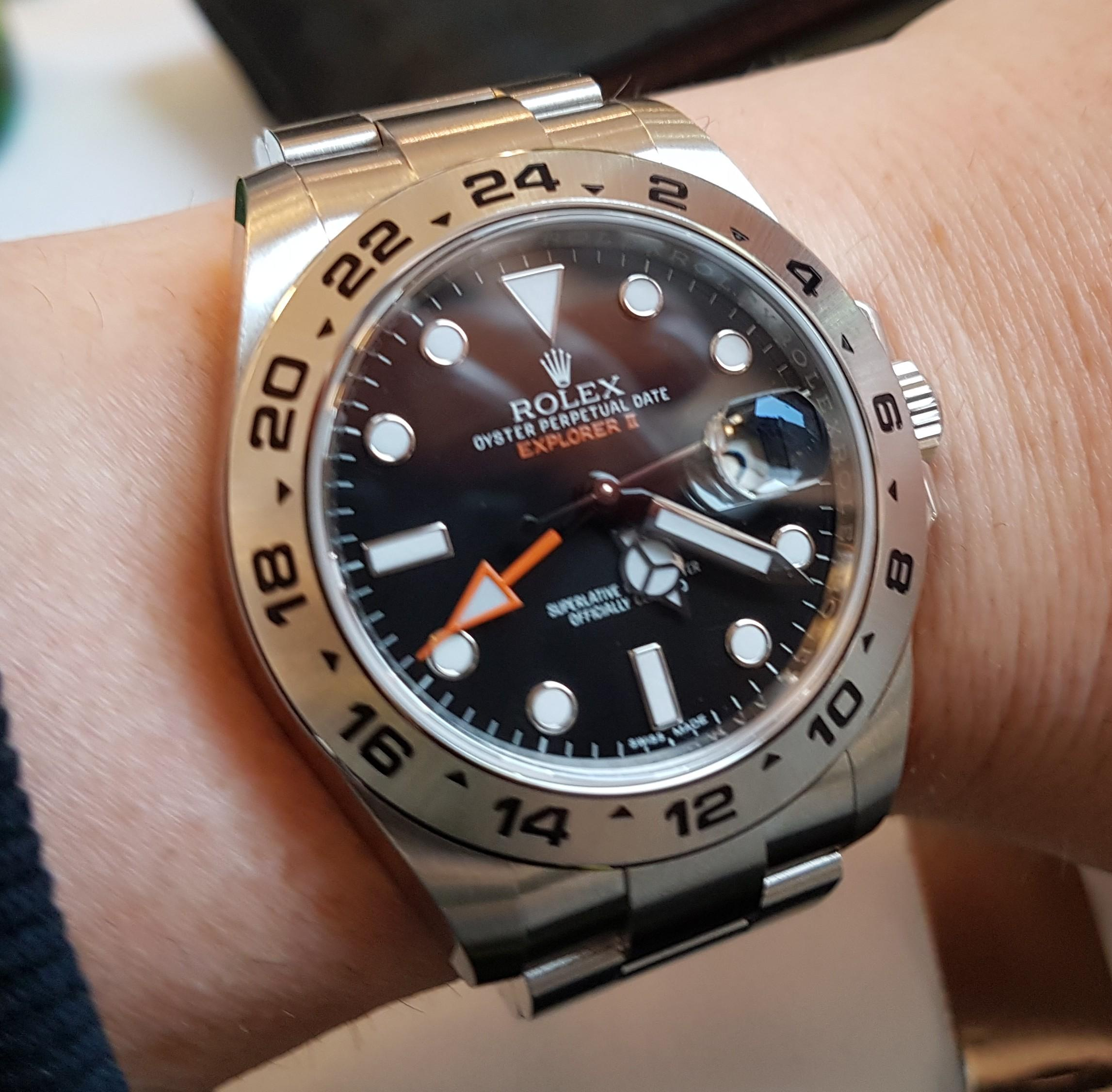Rolex Explorer Rolex Explorer Ii Black For My 50th Watches