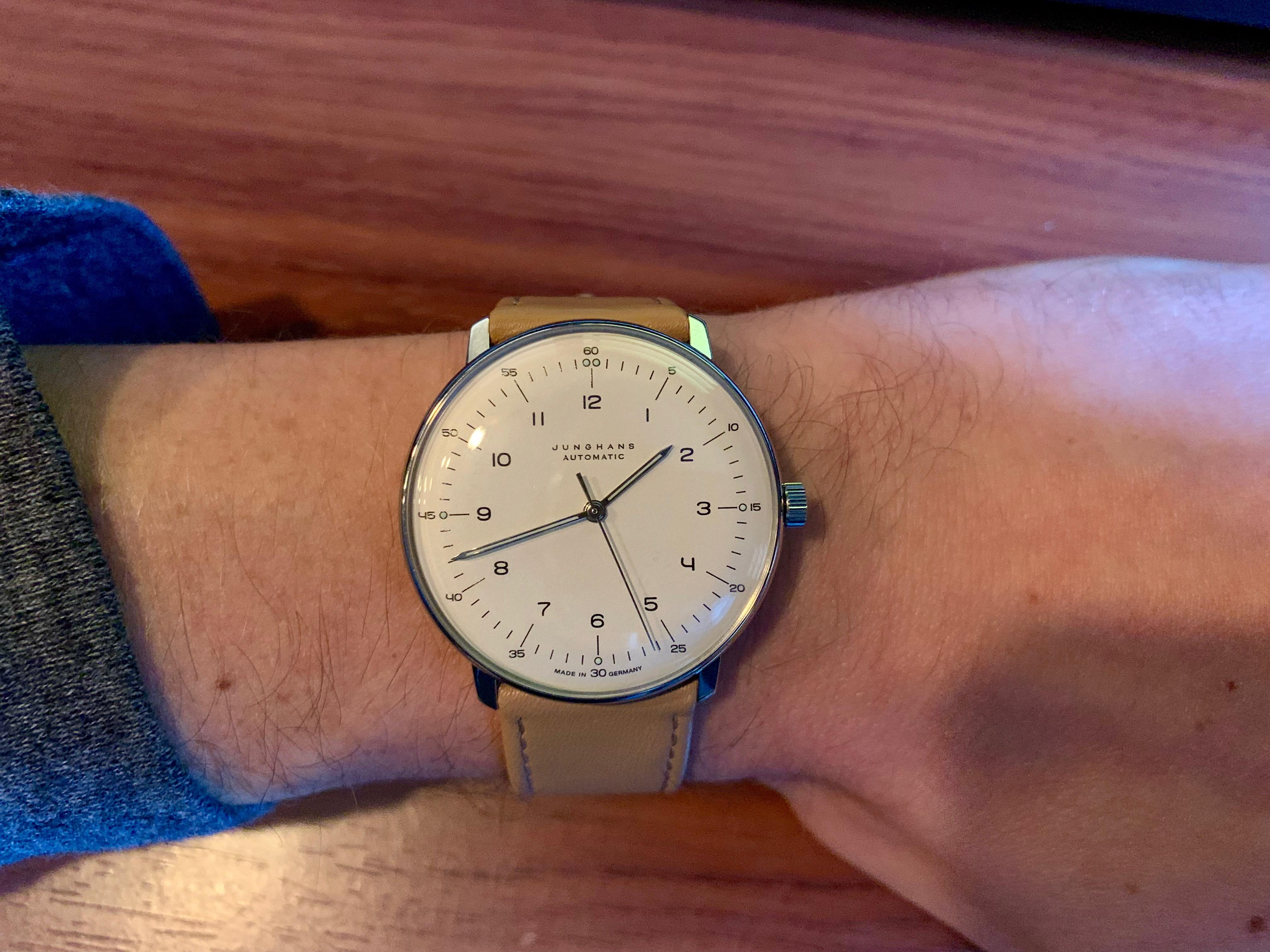 Max Bill Automatic Junghans My First Watch Max Bill Automatic Watches