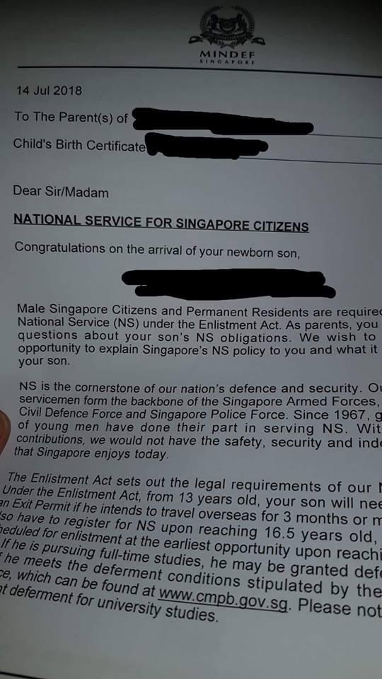 Congratulations for newborn sons of Singapore!  singapore