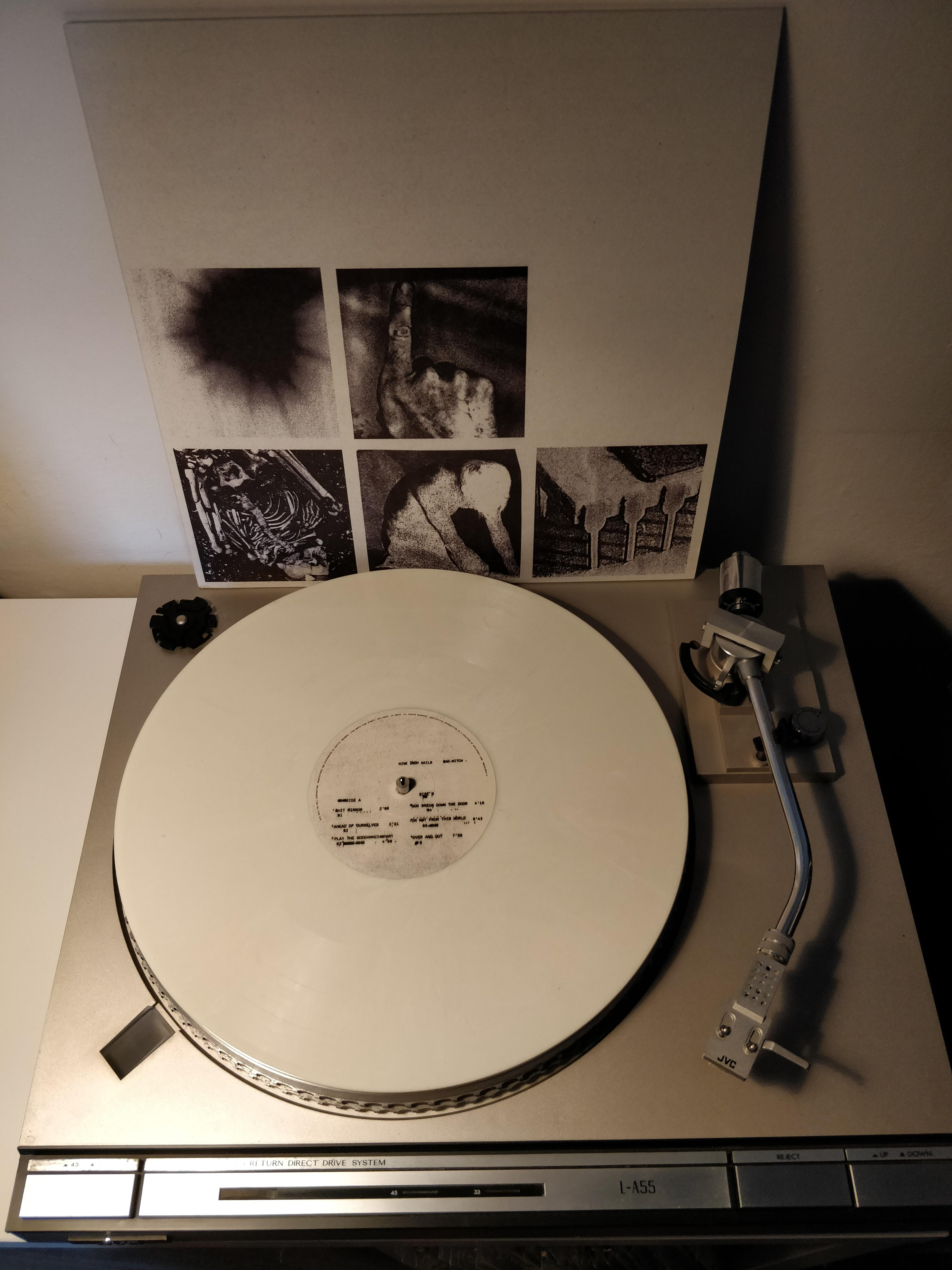 Vinylboden Bad Nine Inch Nails Bad Witch Off White Vinyl Vinyl