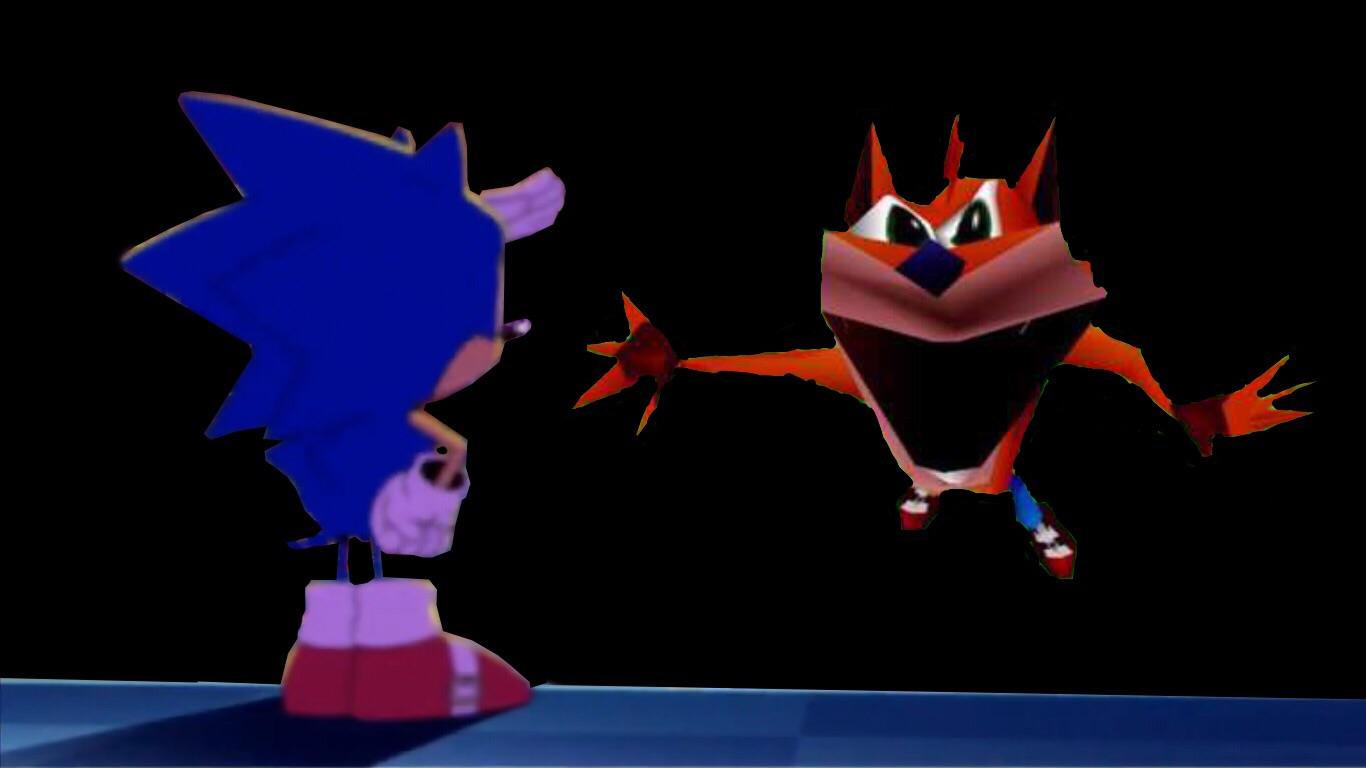 Falling Down A Portal Wallpaper Sonic The Hedgehog Memes Tv Tropes