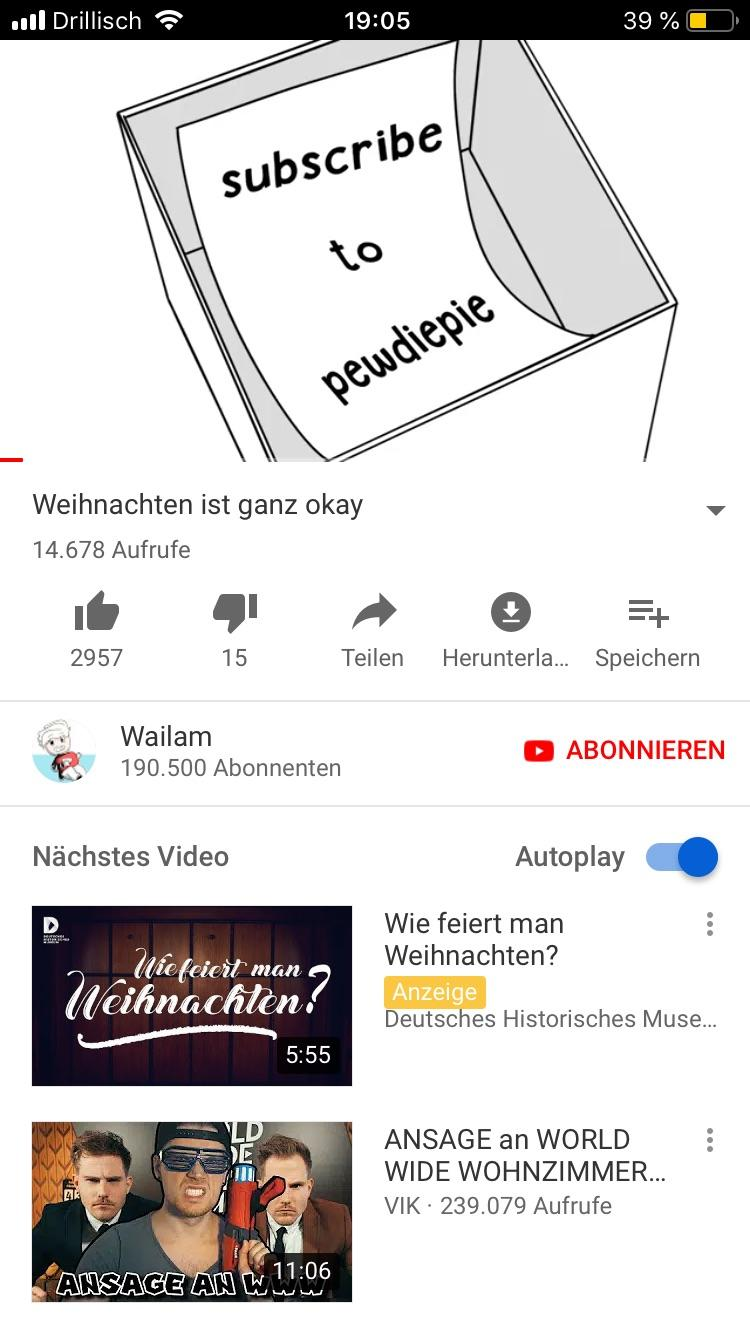 World Wide Wohnzimmer German Ytber Doing His Part Pewdiepiesubmissions