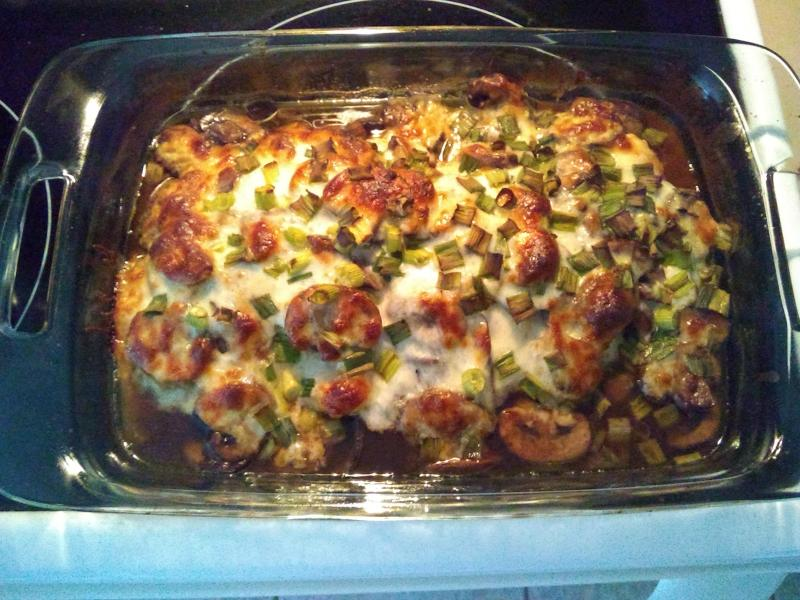 Large Of Chicken Lombardy Recipe