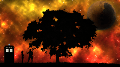 A Doctor Who wallpaper I threw together while bored (1920x1080) : doctorwho