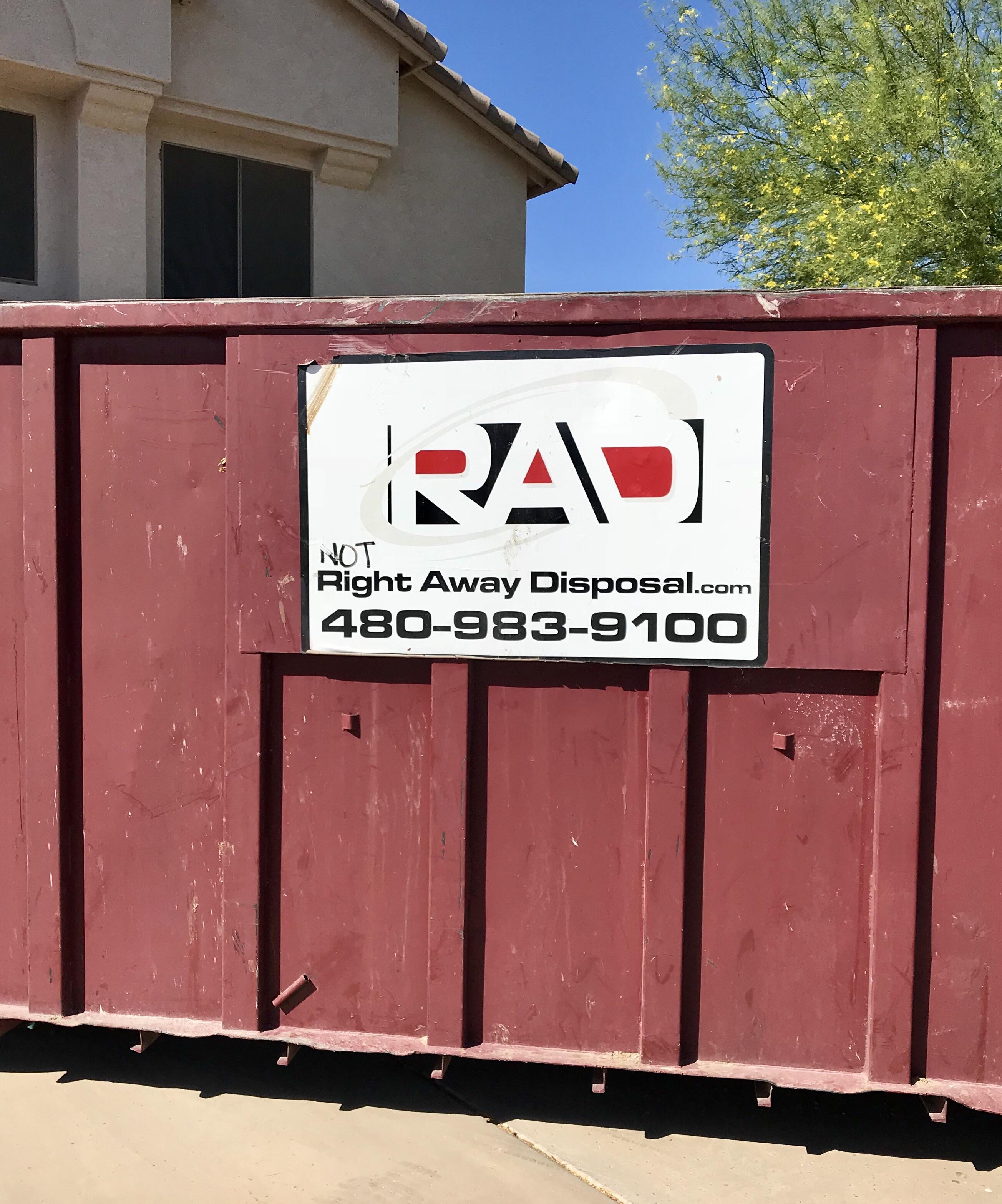 Fullsize Of Right Away Disposal