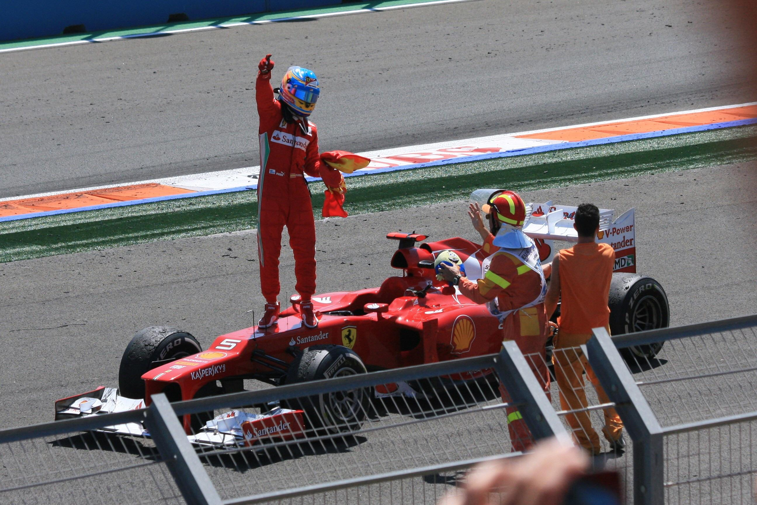 Fernando Alonso F1 Grand Prix On This Day In 2012 Fernando Alonso Won The European Grand Prix