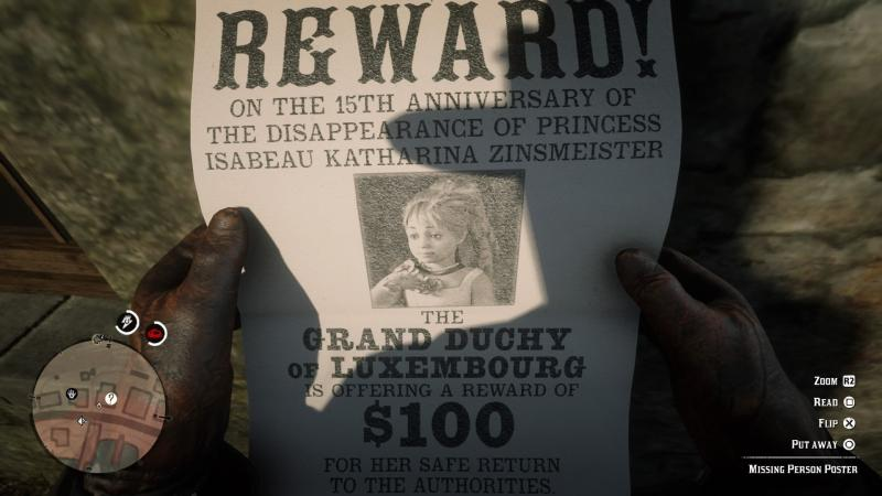 Has Anyone Found This Missing Person Yet?  reddeadredemption
