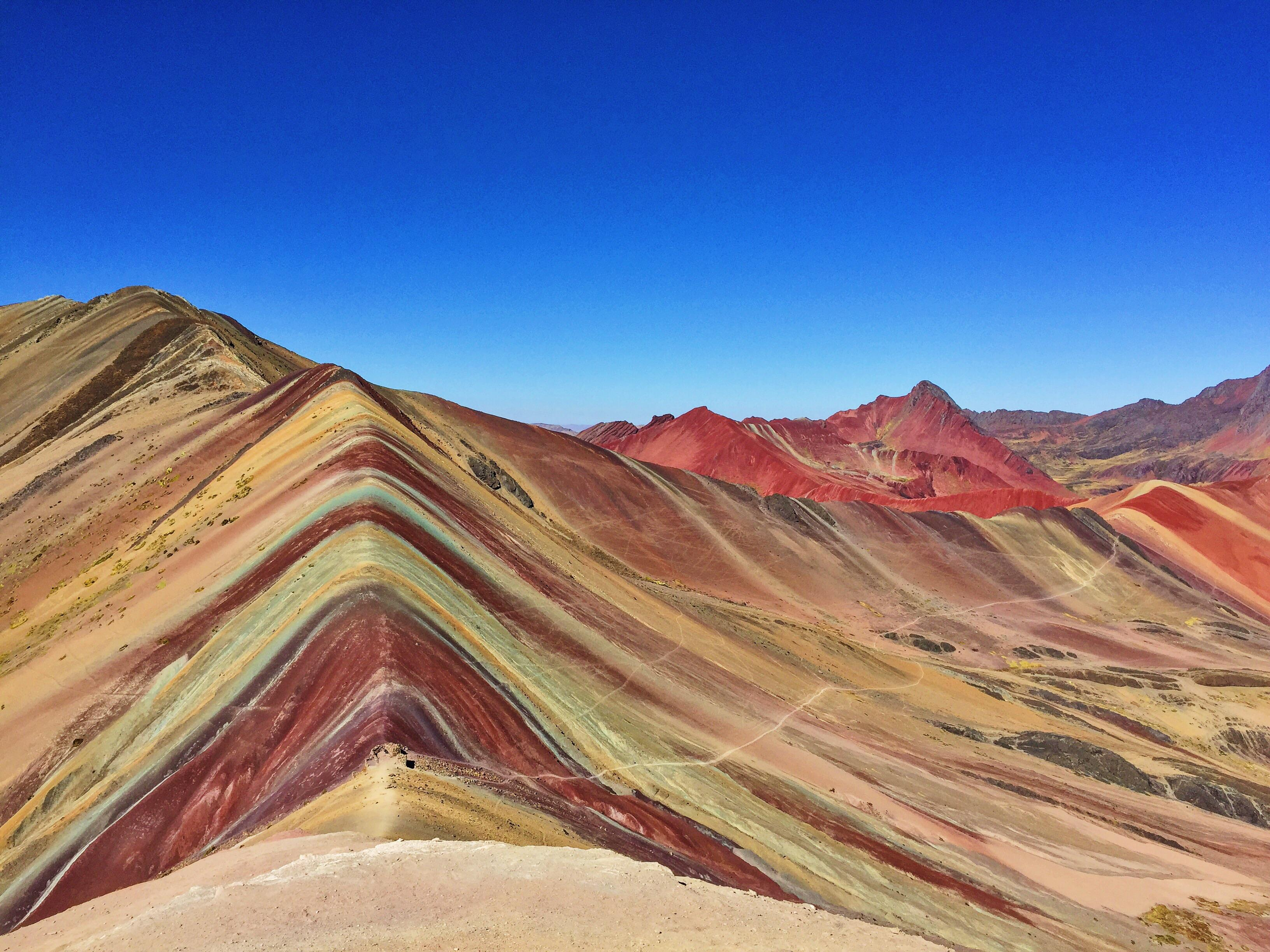 Netherlands Fall Wallpaper Vinicunca Peru On A Perfectly Clear Day Oc 3264 X