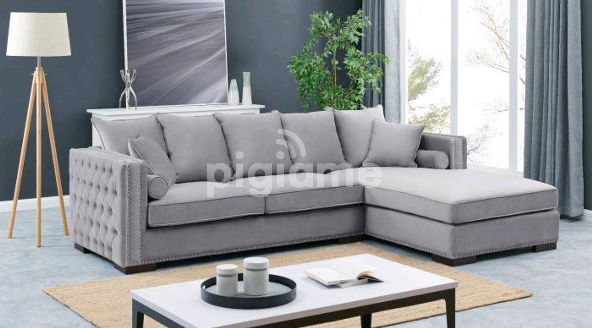 Five Seater L Shaped Sofas Best L Shaped Sofa Set Designs Sofas For Sale In Nairobi Kenya In Nairobi Pigiame