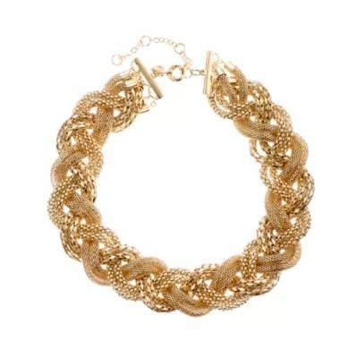 Long Woven Necklace Jcrew