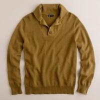 Shawl-collar military sweater : | J.Crew