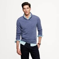 Vintage fleece shawl-collar pullover : t-shirts & polos ...