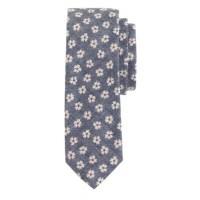 Cotton tie in ultramarine floral : ties | J.Crew