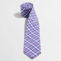 Factory mini-tattersall tie : Ties | J.Crew Factory