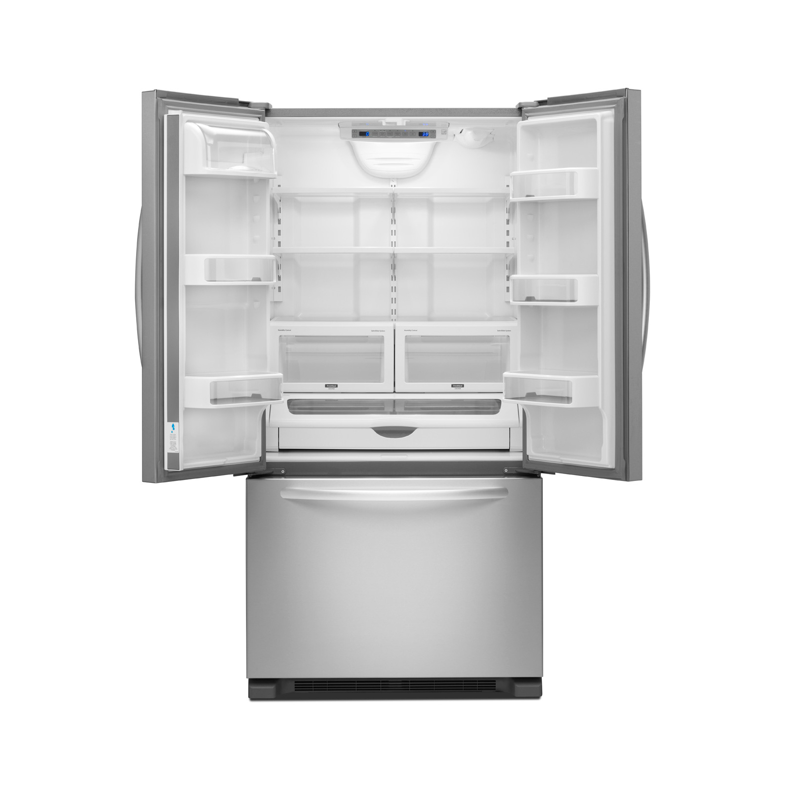 Kitchenaid Krff302ess Kitchenaid Kfcs22evms 21 9 Cu Ft French Door Refrigerator