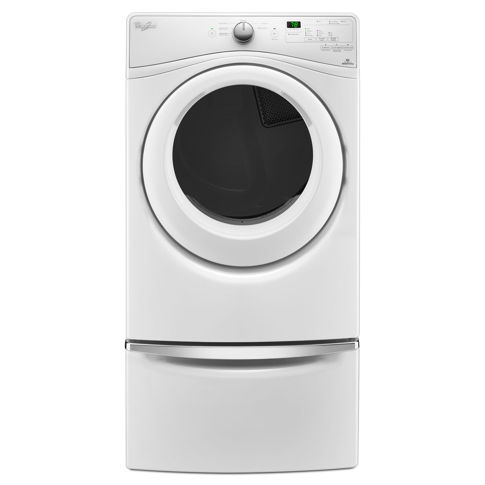 Sears Washer And Dryer Canada Whirlpool Wed75hefw 7 4 Cu Ft Electric Dryer White