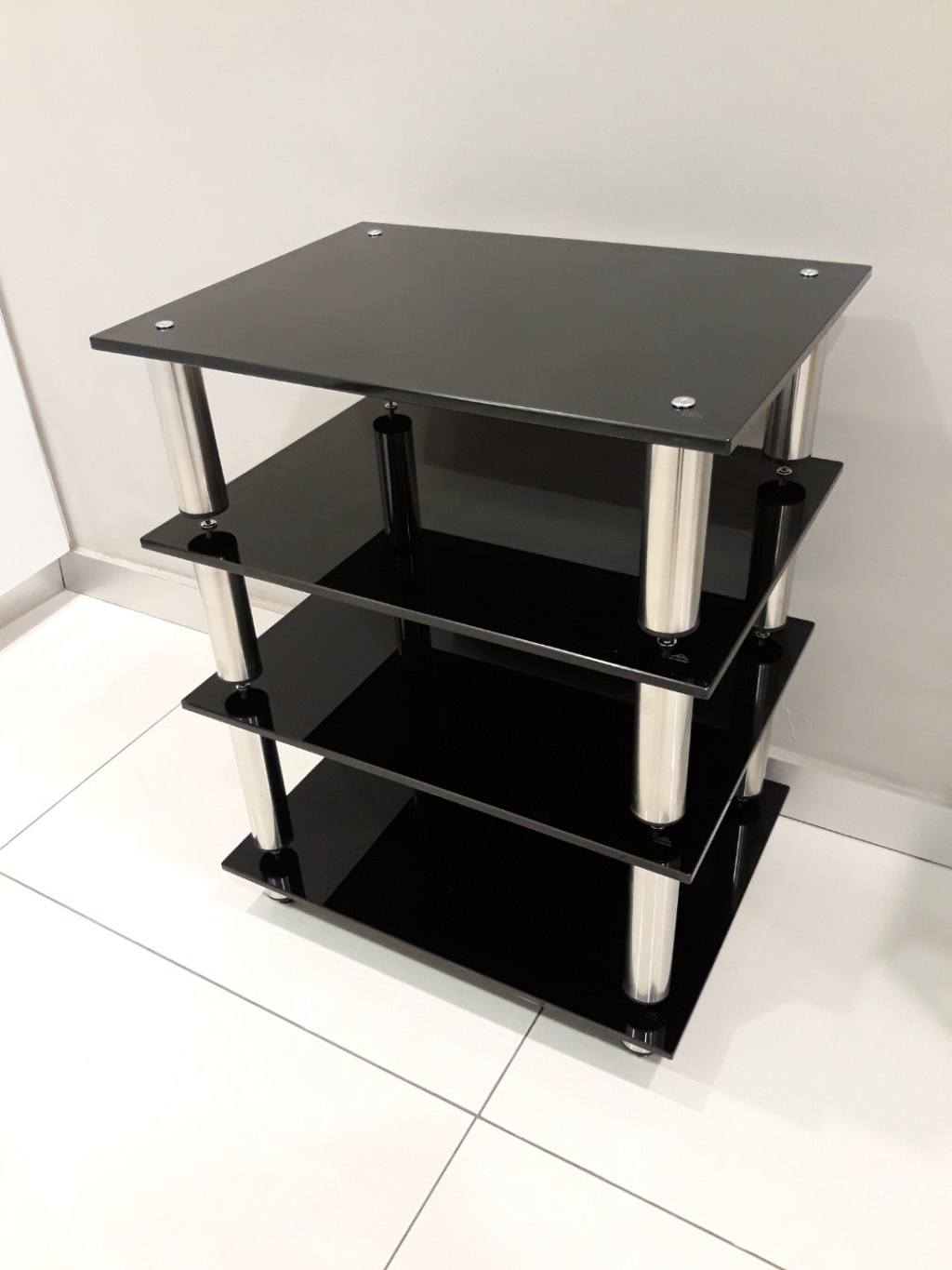 Hifi Rack Design Black Pearl Se Hifi Rack