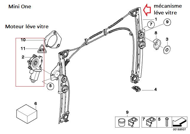 mini schema moteur mecanisme de gaz