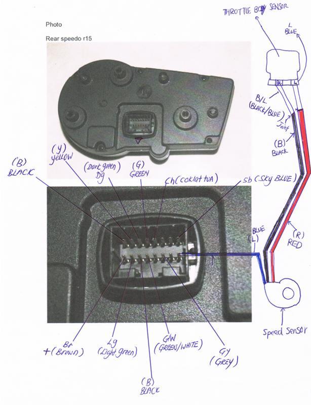 manual install speedo r15