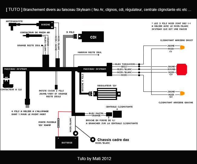 moto 4 80 schema cablage