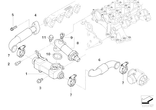 schema moteur bmw 330d e46