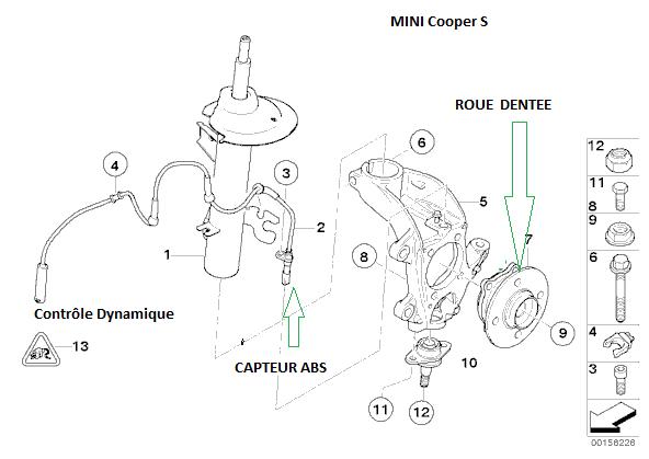 schema moteur mini cooper s