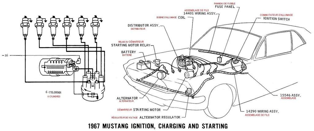 37 ford schema cablage
