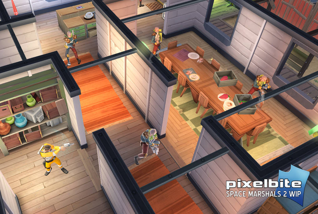 Space Marshals 2 gameplay mobile games