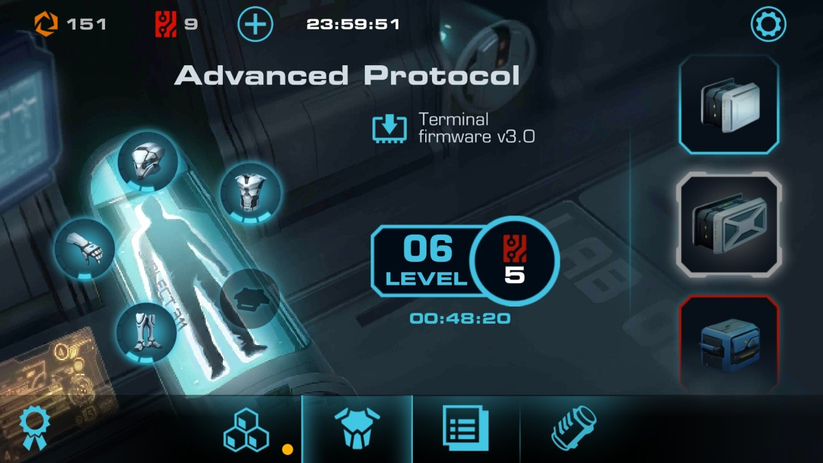Vector 2 advanced protocol cool down