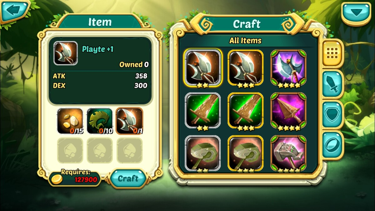 crafting wakfu raiders