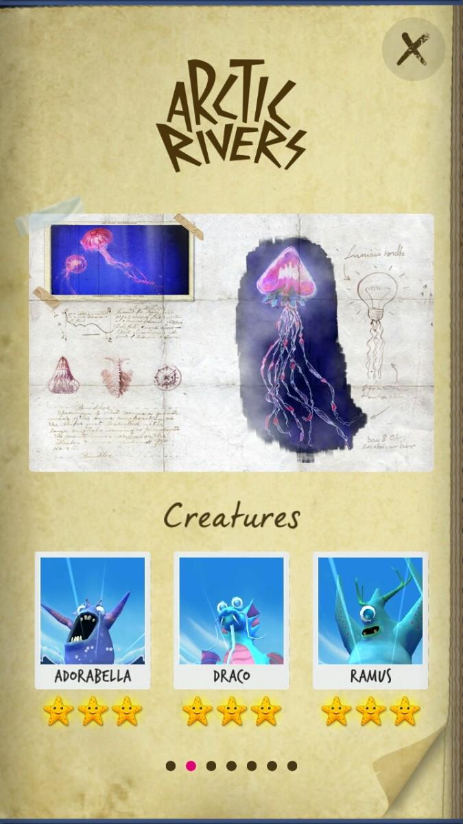 Sea Hero Quest monsters