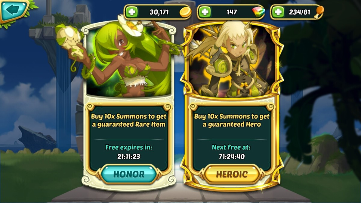 summons hero wakfu raiders